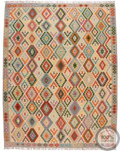 Shirvan Kilim rug - Grey - 11'2 x 8'8
