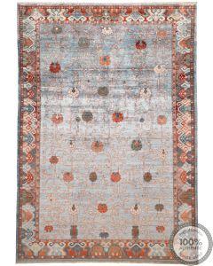Khotan Samarkand Design Silk  - 12'2 x 8'6