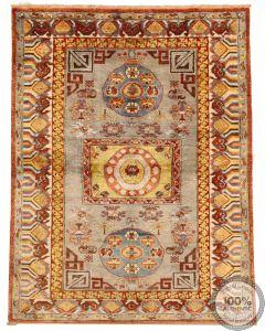 Khotan Samarkand Design Part Silk  - 6'2 x 4'8