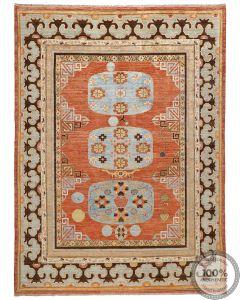 Khotan Samarkand Design Part Silk  - 11'9 x 8'7