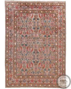 Khotan Samarkand Design Part Silk  - 11 x 7'8