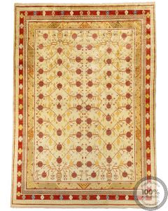 Khotan Samarkand Design Part Silk  - 12'2 x 8'7