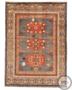 Khotan Samarkand Design Part Silk  - 12'2 x 8'9