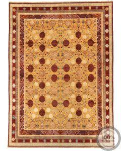 Khotan Samarkand Design Part Silk  - 11'9 x 8'6