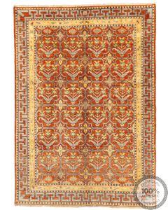 Khotan Samarkand Design Part Silk  - 7'7 x 5'4