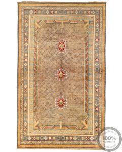 Khotan Samarkand Design Part Silk  - 10'4 x 6'3