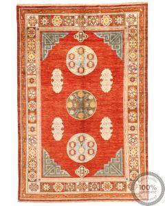 Khotan Samarkand Design Part Silk  - 9'9 x 6'4