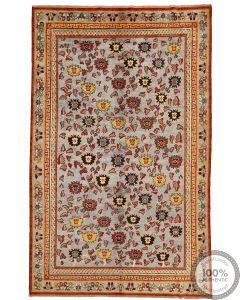 Khotan Samarkand Design Part Silk  - 9'9 x 6'2