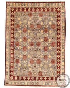 Khotan Samarkand Design Part Silk  - 11'8 x 8'5