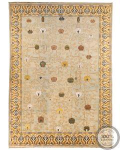Khotan Samarkand Design Part Silk  - 12'1 x 8'7