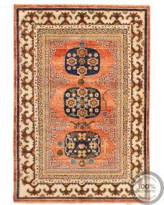 Khotan Samarkand Design Part Silk  - 7'9  x 5'4