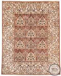 Khotan Samarkand Design Silk  - 9'9  x 7'87