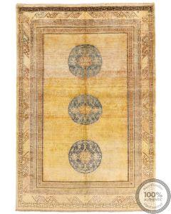 Khotan Samarkand Design Part Silk  - 9'5 x 6'4