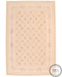 Aubusson design rug - 8'9 x 6