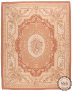 Pink Aubusson Design 53 - 12'3 x 8
