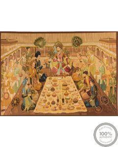 Tapestry Maharaja's feast