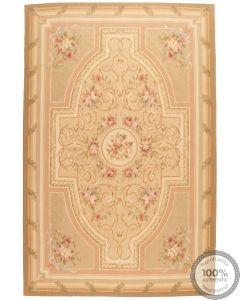 Aubusson rug floral design 10'2 x 6'6
