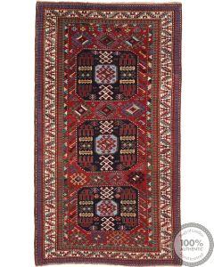 Caucasian / Kazak Antique Rug - 8'5 x 4'5