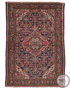 Antique Persian Hamadan Rug Circa 1930 - 4'7 x 3'3