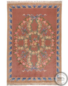 Chinese Wool Rugs Traditional Aubusson Design