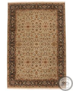 Fine Garous Ziegler design Indian rug 8'9 x 6
