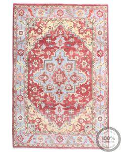 Serapi design rug - Red & Yellow