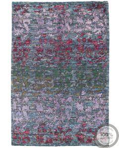 Sari Silk rug - 7'9 x 5'5