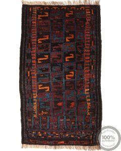 Balouch Baluch rug - 3'1 x 1'8