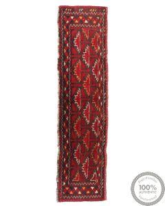 Afghan runner rug - 4'9 x 1'1