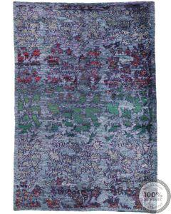Sari Silk rug - 7'9 x 5'4