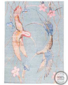 Modern part silk design 10'1 x 7'3
