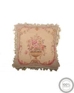 Tapestry needlepoint cushion 1'4 x 1'4