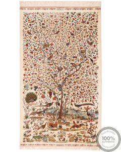 Qum silk signed by Javad - 5'6 x 3'4