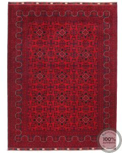 Khal Mohammad Afghan rug - 7'8 x 5'5