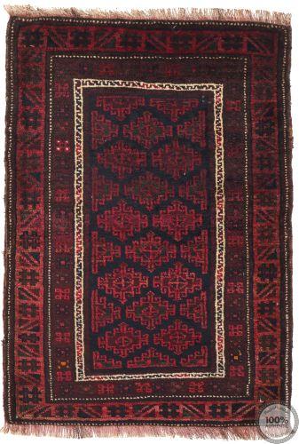 Balouch Baluch rug  - 3'1 x 2'2