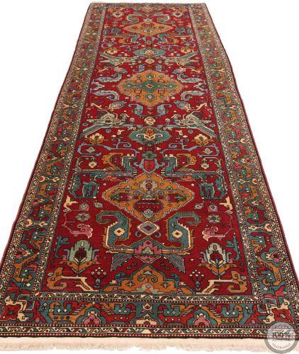 Caucasian Kazak Design Rug in Red