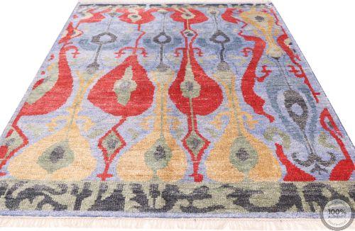 Sari Silk rug - 8'1 x 5'1