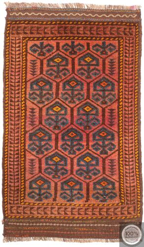 Balouch Baluch rug orange