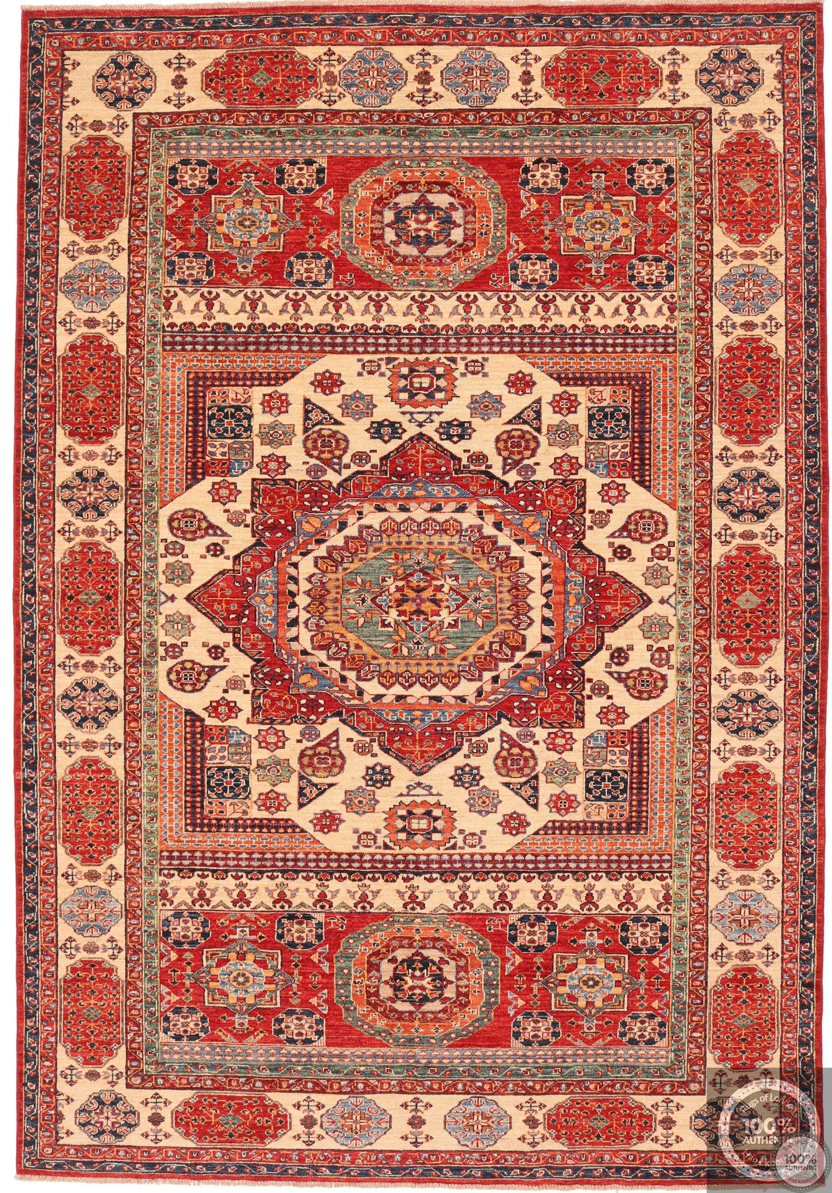 Garous Ziegler Mamluk design rug 9'7 x 6'6