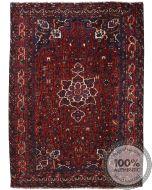 Bownat / Kashgai Rug - Circa 1920 - Deep Red - front view