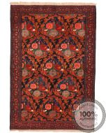 Antique Senneh Rug - Circa 1930