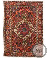 Antique Bakhtiar Antique Rug - circa 1910