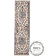 Persian Nain rug with silk highlights