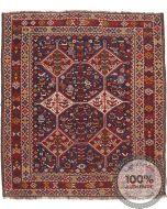 Bownat / Kashgai Rug - Circa 1920 - Red & Brown - front view