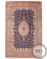 Persian fine Qum 100% silk Rug