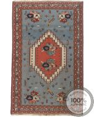 Suzani Afshar Kilim 6'6 x 4'1