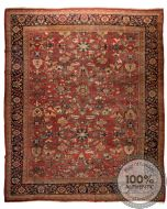 Persian Mahal antique rug circa 1910