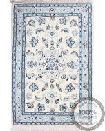 Persian 9La Nain rug with silk highlights