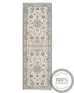 Persian Nain 9La rug with silk highlights 8'04 x 2'62