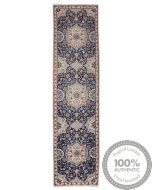 Nain 9La rug with silk highlights 12'47 x 2'89